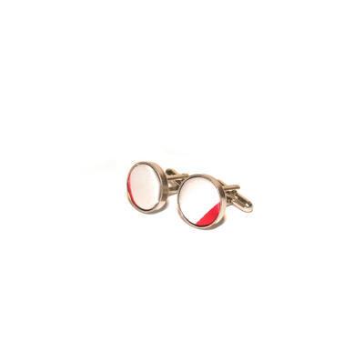 Luxusný set široké červené pruhy - 2