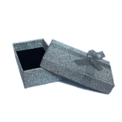 Darčeková papierová krabička sivá - 2