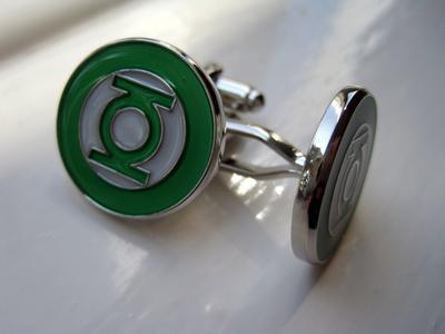 Manžetové gombíky Green Lantern - 2
