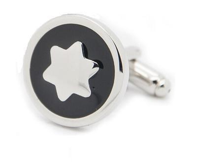 Manžetové gombíky hvezda - 2