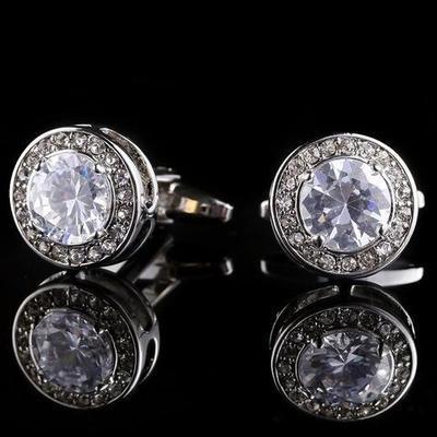 Manžetové gombíky diamant - 2