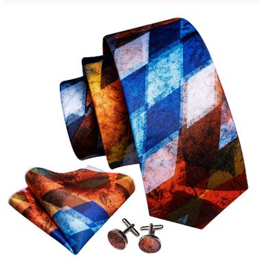 Manžetové gombíky s kravatou Plútós - 2