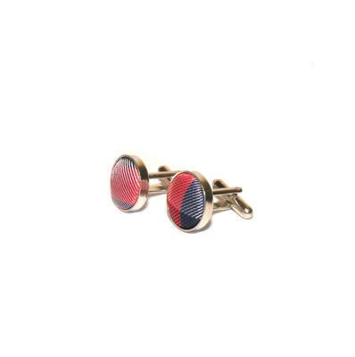 Luxusný set modro červený vzor - 2