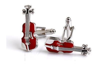Manžetové gombíky husle - 3