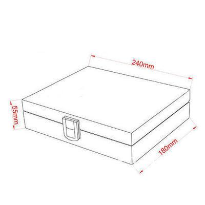 Veľký box na manžetové gombíky - 5